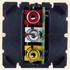 Механизм розетки аудио/видео RCA Celiane (Legrand) 67313