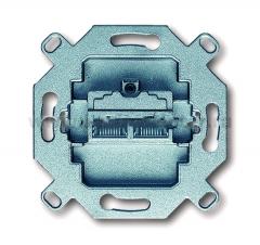 Механизм розетки компьютерной двойной RJ 45 кат. 5е, 155 Мбит/сек, [BJE0217] 0230-0-0379