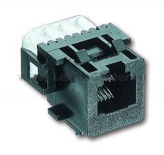 Механизм розетки компьютерной RJ 11/12 RJ 45 8 полюсов (ABB) [BJE0211] 0225-0-0086