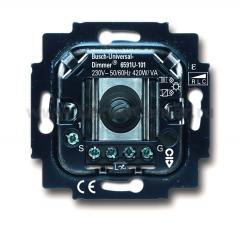 Механизм универсального светорегулятора 420 Вт/ВА (BJE6591 U-101) 6513-0-0588