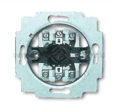 Механизм выключателя для жалюзи двухполюсного с ручкой (ABB) [BJE2712 U] 1101-0-0534