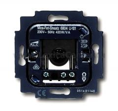 Мех.Датчика движения сенсор-комфорт для л/н и н/в галог. с эл. и э/м транс. 420Вт (ABB) [BJE6804 U-101] 6800-0-2219