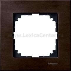 Merten M-Elegance Венге Рамка 1-я (MTN4051-3471 (MTN405171))