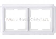 Merten SD Antik Бел Рамка 2-ая (термопласт) (MTN483219)