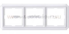 Merten SD Antik Бел Рамка 3-ая (термопласт) (MTN483319)