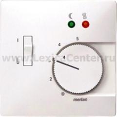 Merten SD Бел Накладка регулятора тёплого пола (термопласт) (MTN537519)
