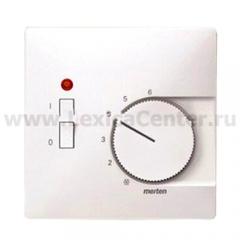 Merten SD Бел Накладка термостата комнатного (Мех.536302,536304) (термопласт) (MTN539719)
