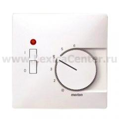 Merten SD Бел Накладка термостата комнатного (Мех.536400,536401) (MTN537419)