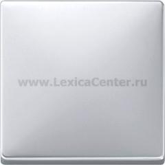 Merten SD Сталь Накладка светрегулятора/выключателя нажимного (MTN573746)