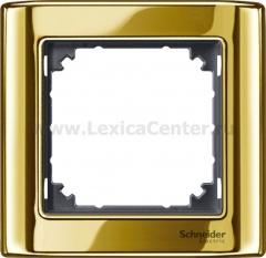 Merten SM M-Star Золото/Антрацит Рамка 1-ая (MTN487114)