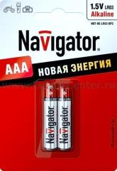 Мизинчиковые батарейки AAA Navigator 94 750 NBT-NE-LR03-BP2