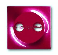 Накладка для антенной розетки TV+FM бордо Impuls (ABB) [BJE1743-777] 1753-0-0109