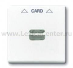 Накладка для карточного выключателя слоновая кость Basic 55 (ABB) [BJB 1792-92-507] 1710-0-3865