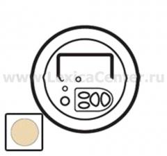 Накладка для модуля локального упраления с ЖК-экраном слоновая кость (Celiane) 66245