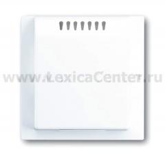 Накладка для радиатора светорегулятора impuls альпийский белый [BJE6541-74] 6599-0-2076