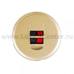 Накладка для розетки акустической слоновая кость Celiane (Legrand) 66240