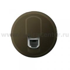 Накладка для розетки телефонной RJ11/12 графит Celiane (Legrand) 64930