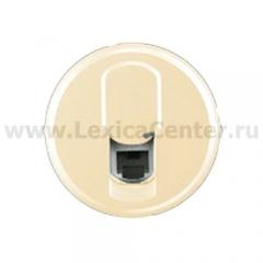 Накладка для розетки телефонной RJ11/12 слоновая кость Celiane (Legrand) 66230