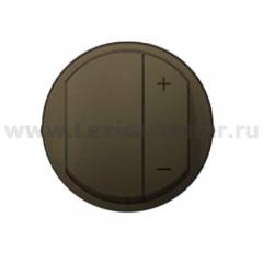 Накладка для светорегулятора нажимного графит Celiane (Legrand) 64950