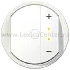 Накладка для светорегулятора нажимного с индикацией белый Celiane (Legrand) 68076