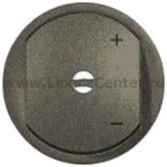 Накладка для светорегулятора нажимного с индикацией графит Celiane (Legrand) 64966