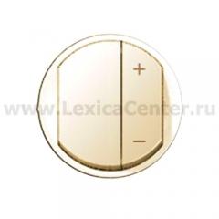 Накладка для светорегулятора нажимного слоновая кость Celiane (Legrand) 66250