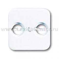 Накладка розетки TV + FM альпийский белый Reflex SI (ABB) [BJE2531-214] 1724-0-0897