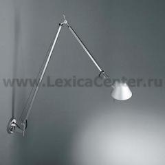 Настенный светильник бра Artemide A029050 TOLOMEO BRACCIO HALO