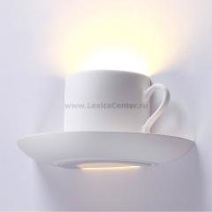 Настенный светильник Odeon light 3548/1W GESSO