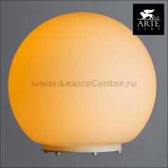 Настольная лампа Arte lamp A6020LT-1WH Sphere