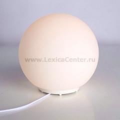 Настольная лампа Arte lamp A6025LT-1WH Sphere
