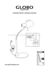 Настольная лампа Globo 24200 Brasilia