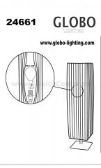 Настольная лампа Globo 24661 Bailey