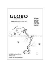 Настольная лампа Globo 24880 Famous