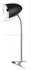 Настольная лампа на прищепке Arte lamp A6155LT-1BK Cosy