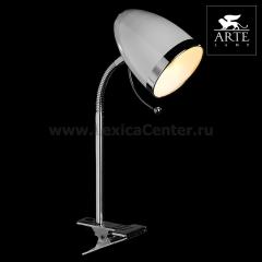 Настольная лампа на прищепке Arte lamp A6155LT-1WH Cosy