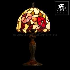 Настольная лампа тиффани Arte lamp A3165LT-1BG Florizel
