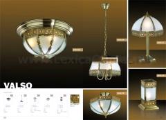 Настольная лампа тиффани Odeon light 2344/1T Valso