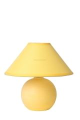 Настольная лампа желтая Lucide 14552/81/34 FARO