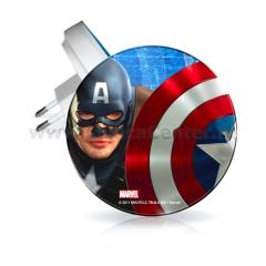 Ночник в розетку Wolta 07R-CA1 Капитан Америка 7 см