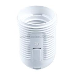 Патрон электрический Navigator 71 614 NLH-PL-R-E27 пластик люстровый под кольцо