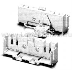 Патрон накладной с блокировкой лампы 2G10 (Dulux F) VOSSLOH-SCHWABE 36302