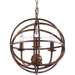 Подвесная люстра Arte lamp A1703SP-3BR Kopernik