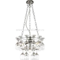 Подвесная люстра с бокалами Arte lamp A3578SP-3CC Bancone