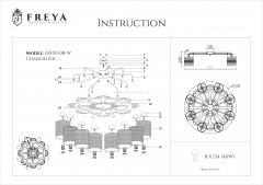 Потолочный светильник Freya FR100-08-W Timone