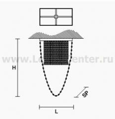 Потолочный светильник Masiero OTTOCENTO VE 817 PL1