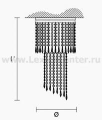 Потолочный светильник Masiero OTTOCENTO VE 840 PL3