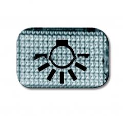 """Прозрачная линза с символом """"свет"""" (ABB) [BJE2145 LI] 1714-0-0211"""