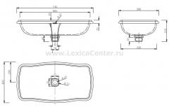 Раковина для ванной CL3193