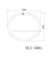 Раковина для ванной OLS-5001